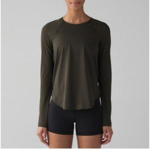 Lululemon Smooth Stride Long Sleeve Top - Size 2